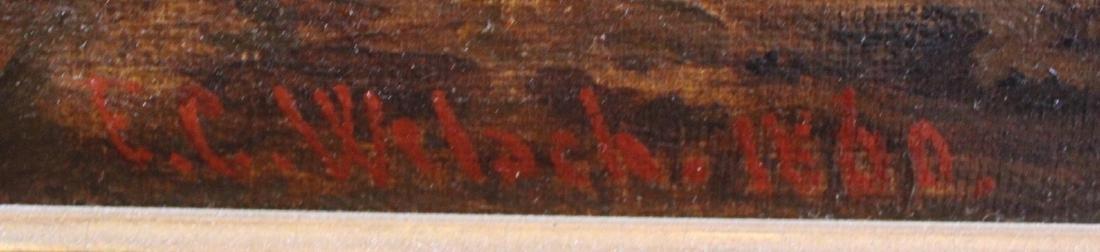 Karl Friedrich Christian Welsch. Oil  Sgd. - 2