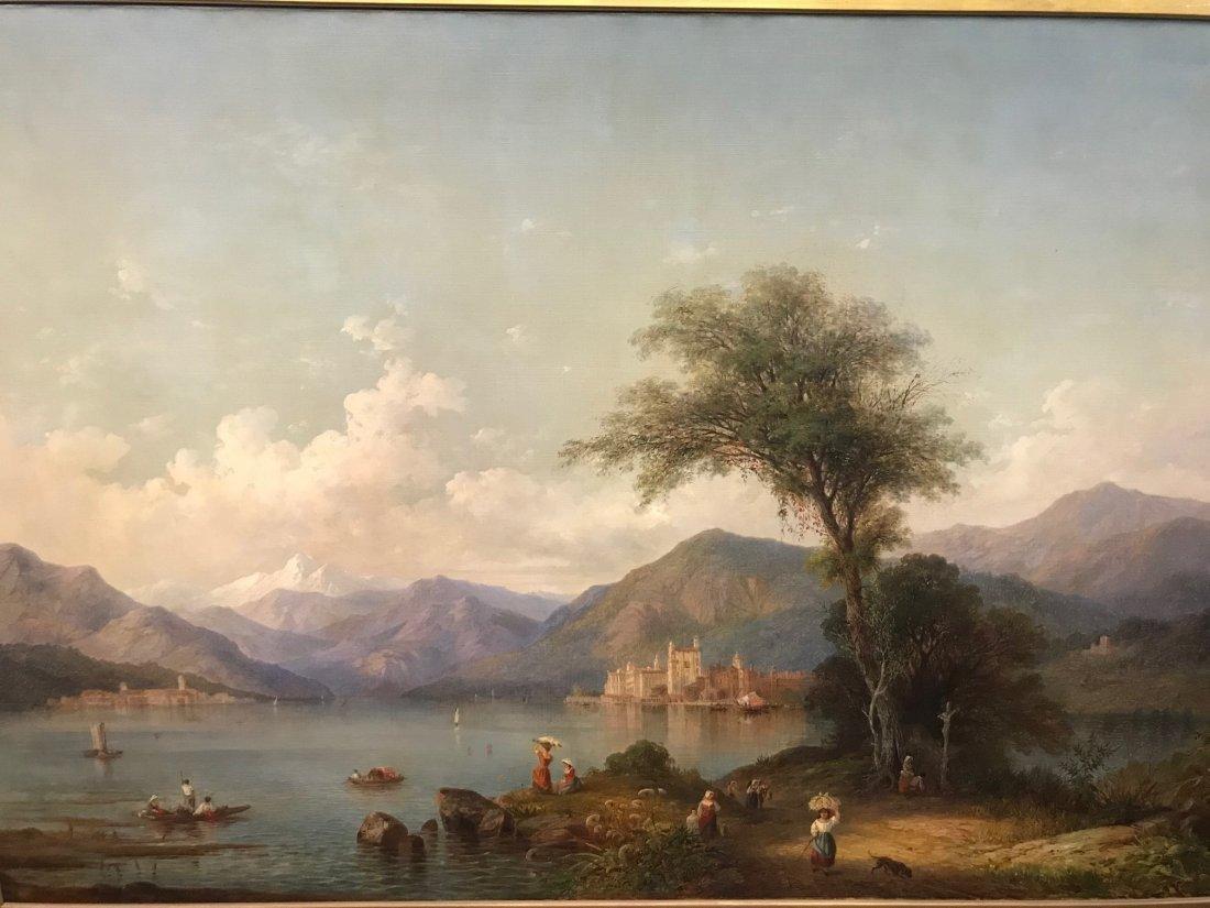 Karl Friedrich Christian Welsch. Oil  Sgd. - 5
