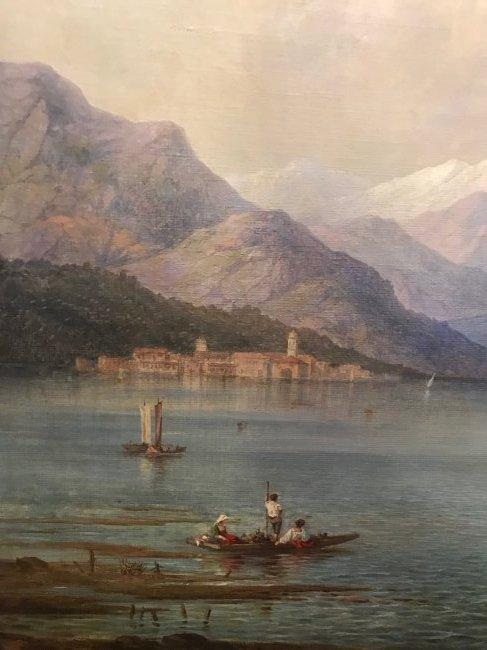 Karl Friedrich Christian Welsch. Oil  Sgd. - 6