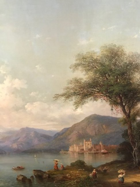 Karl Friedrich Christian Welsch. Oil  Sgd. - 7