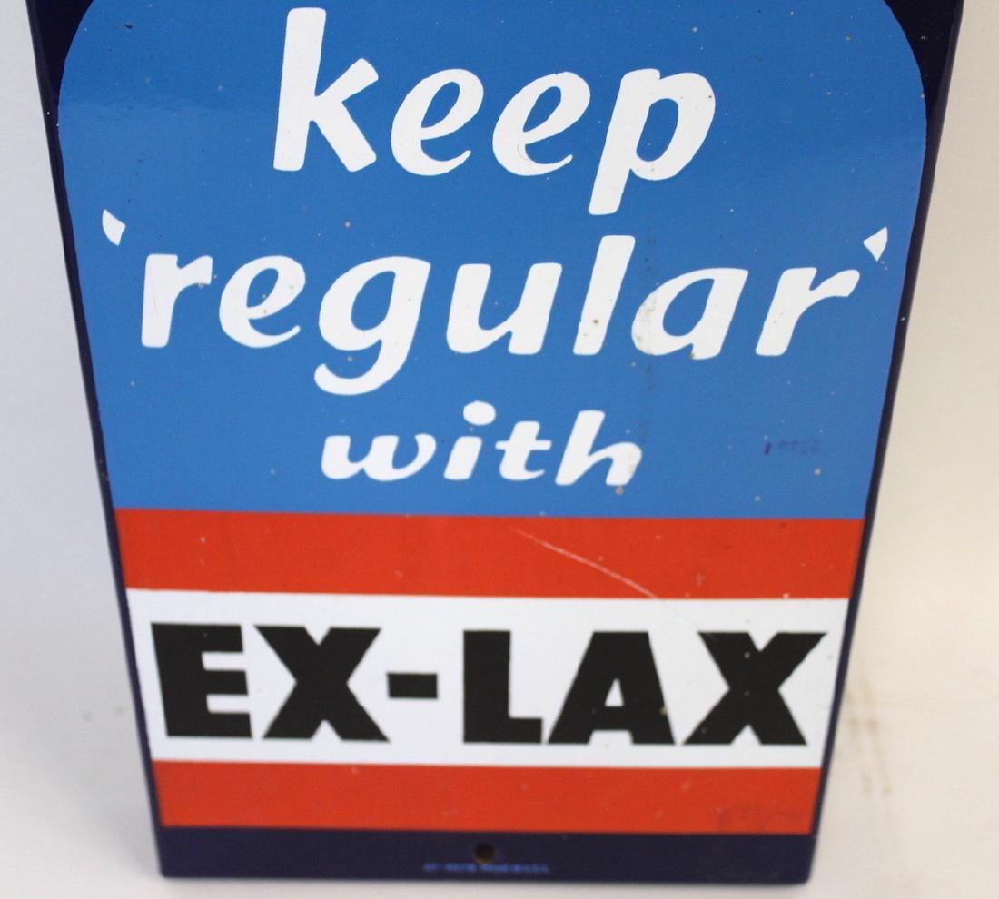 Original Enameled Ex-Lax Thermometer - 2