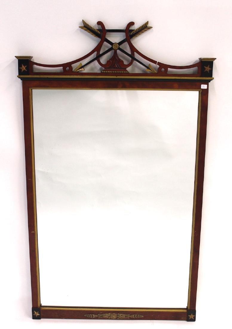 Mahogany Decorator Mirror