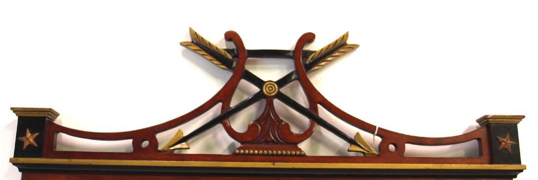 Mahogany Decorator Mirror - 2