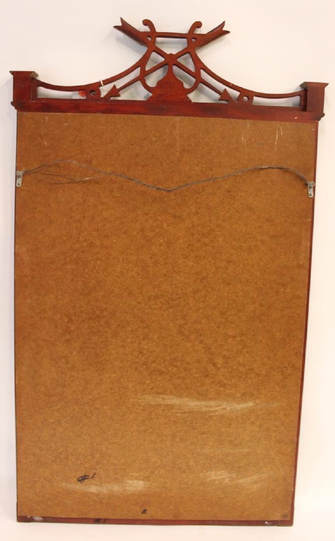 Mahogany Decorator Mirror - 4