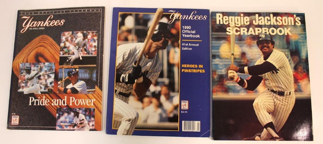 Yankee Yearbooks '88, '90 & Jackson Book