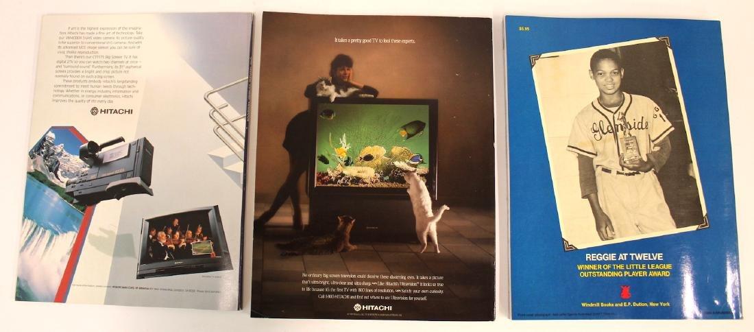 Yankee Yearbooks '88, '90 & Jackson Book - 2