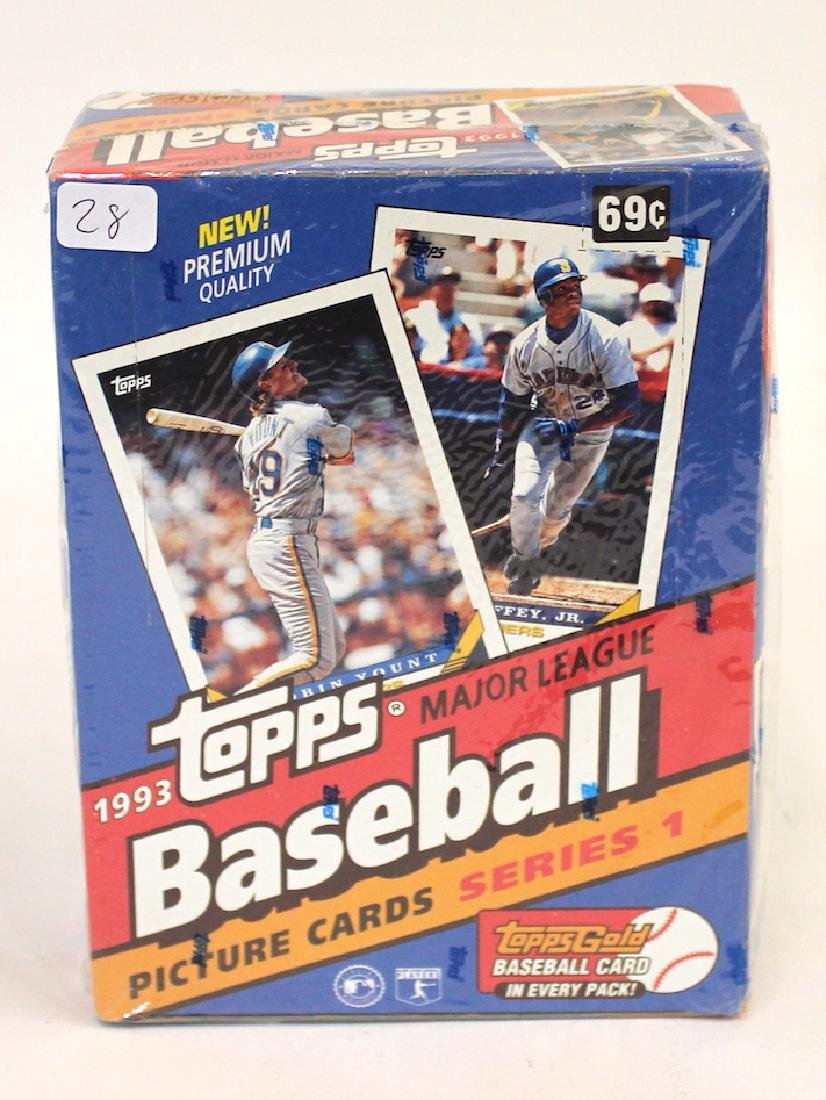 Topps Picture Series 1 Cards 1993 Original