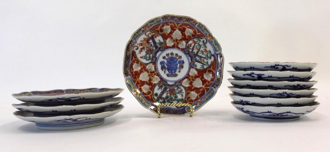 Imari Oriental Plates (10)