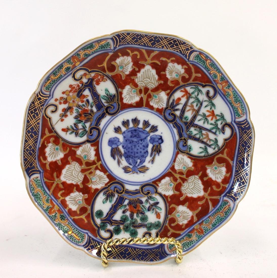 Imari Oriental Plates (10) - 2
