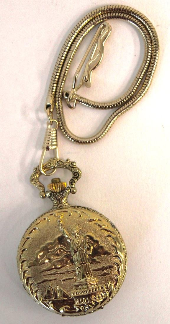 Statue of Liberty 100th Anny Pocket Watch