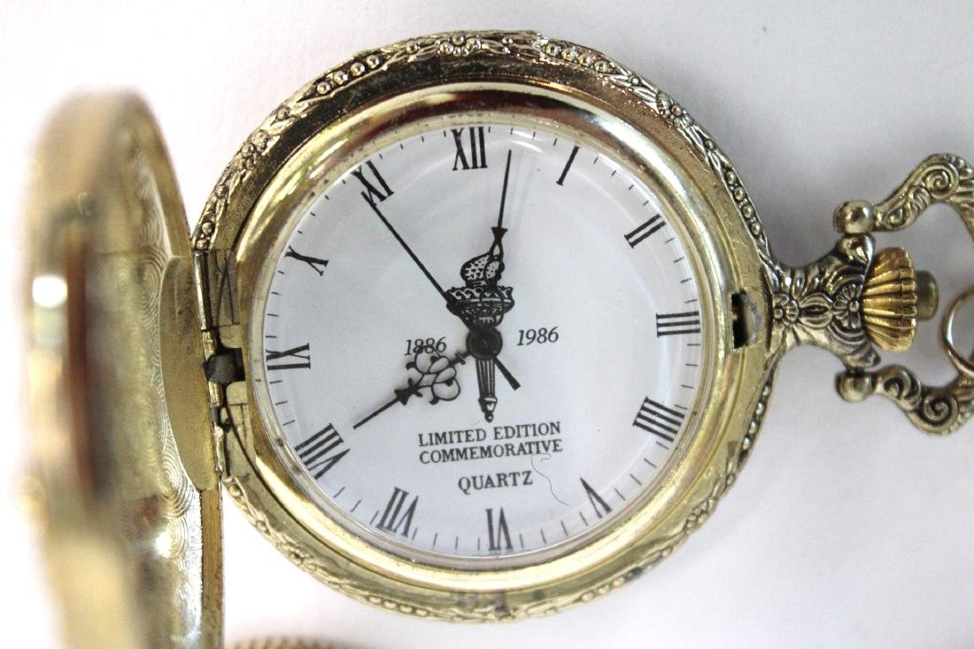 Statue of Liberty 100th Anny Pocket Watch - 3