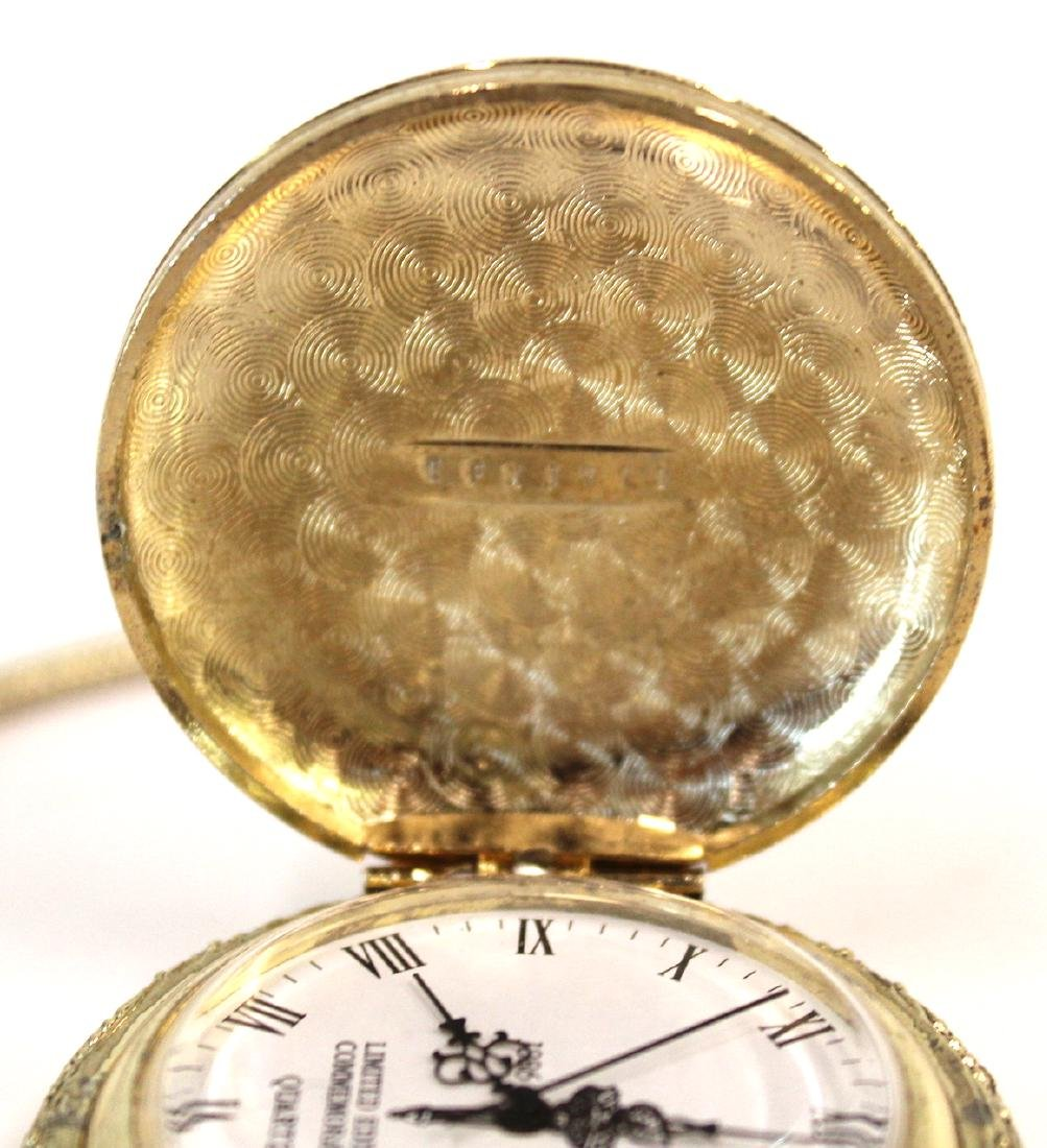 Statue of Liberty 100th Anny Pocket Watch - 4