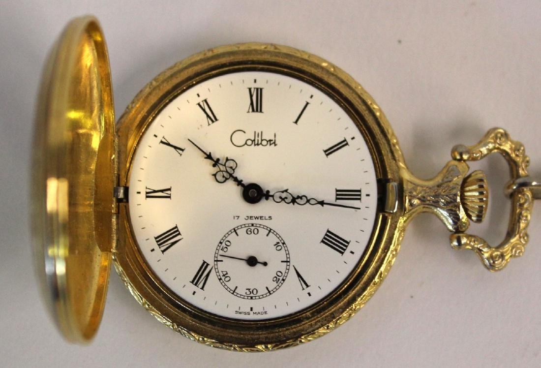 Colibri 17 Jewel Swiss Hunting Case Watch - 3