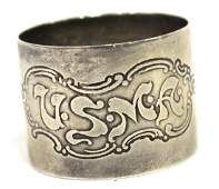 USMA Gorham Sterling Silver Napkin Ring