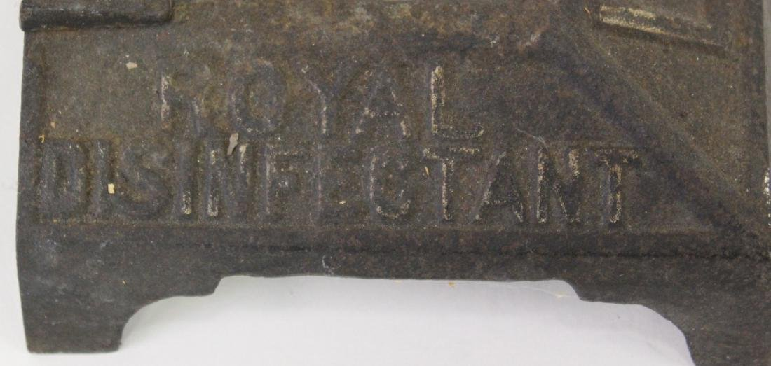 Sunlight Soap Cast Iron Advertising Stand - 4