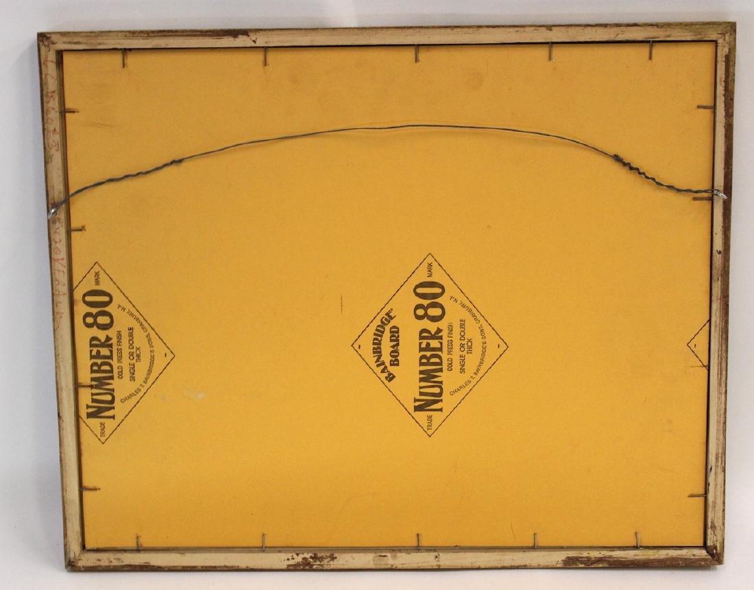 Maxfield Parrish Type Art Deco Print - 3