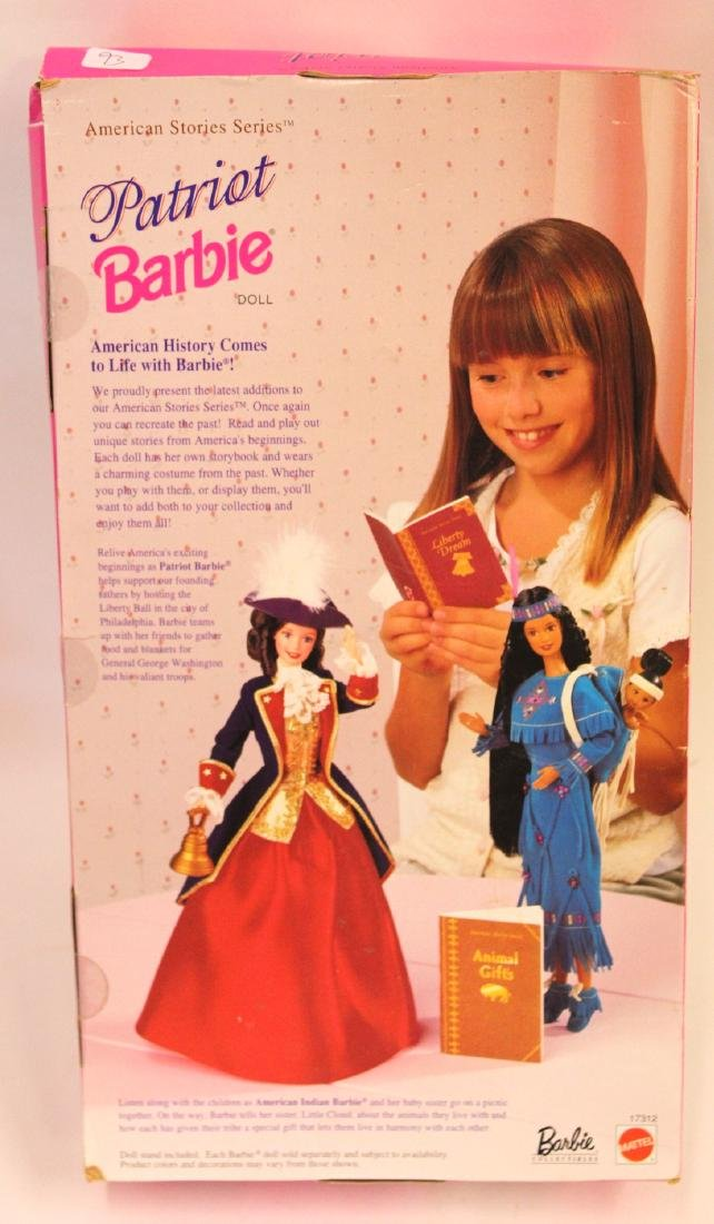 Patriot Barbie. Original Box - 2