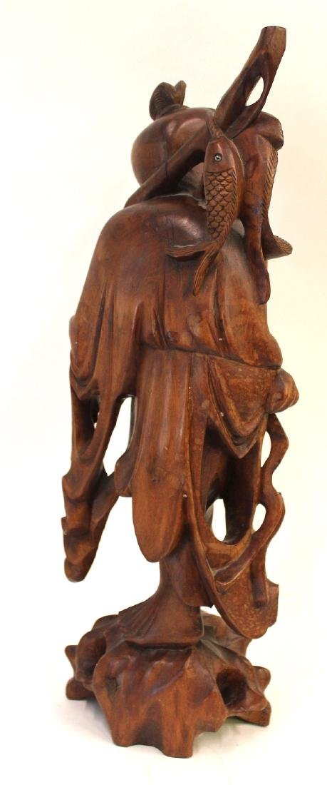 19th C. Carved Oriental Figure - 2