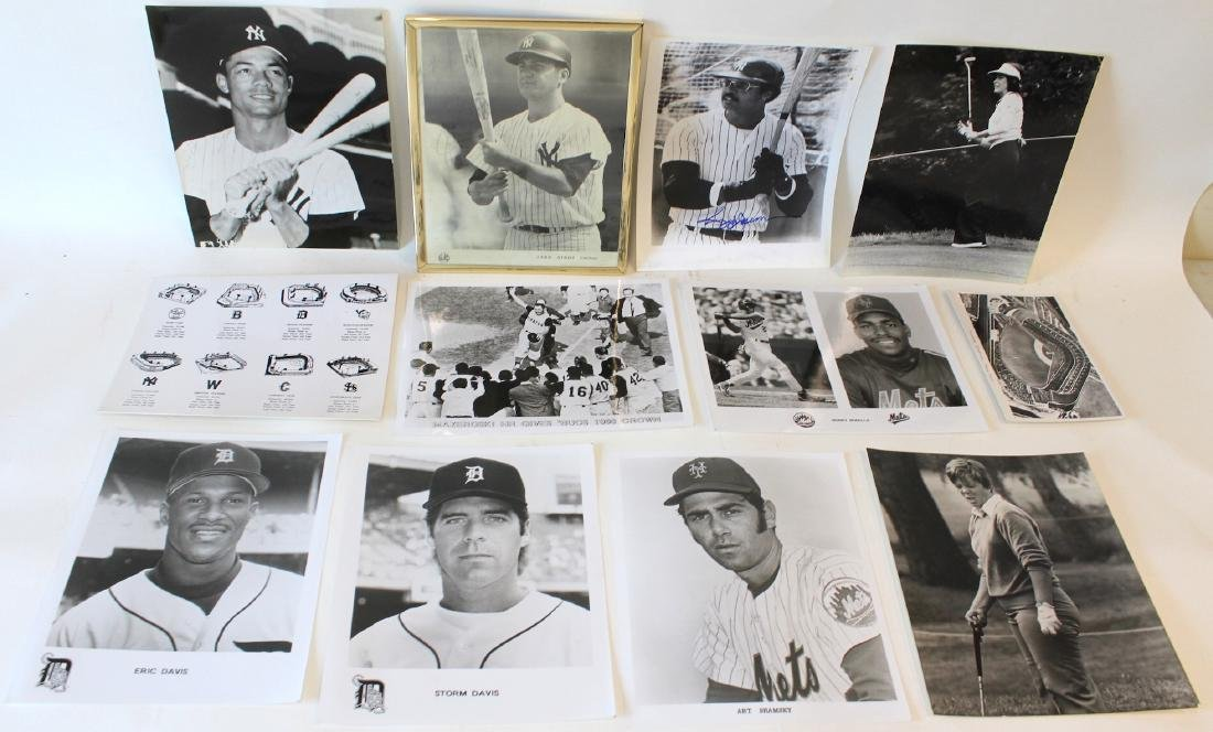 Collectors Lot of Vintage Sports Photos(12)