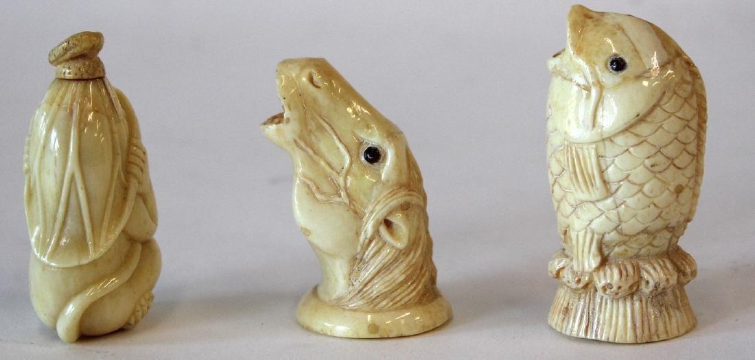 Oriental l Figures and Netsuke (3) - 4