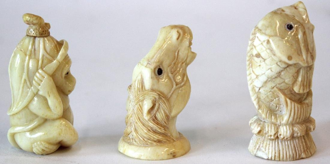 Oriental l Figures and Netsuke (3) - 5