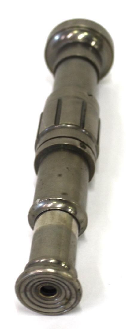 Vintage Brass and Nickel Telescope - 3