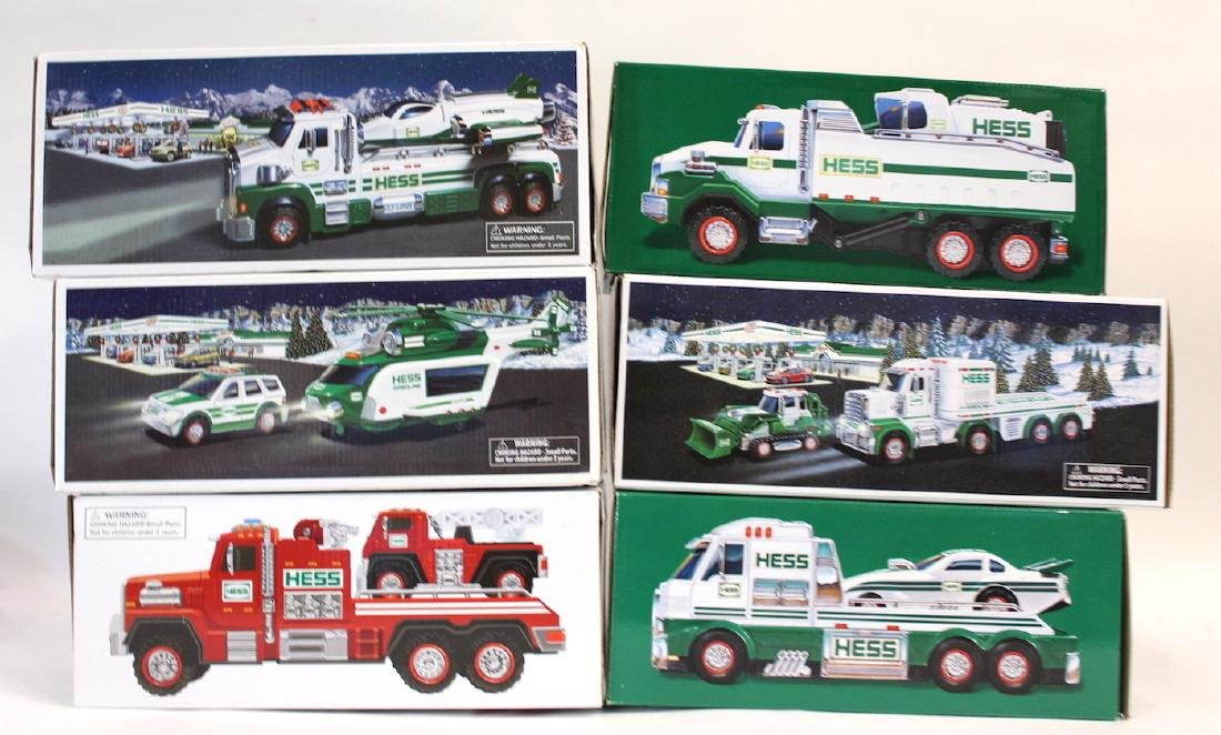 Collectible Hess Trucks (6)