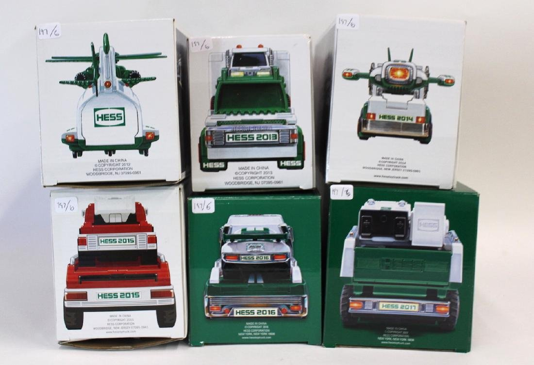 Collectible Hess Trucks (6) - 2
