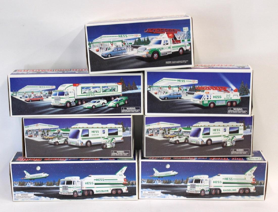 Collectible Hess Trucks (7)