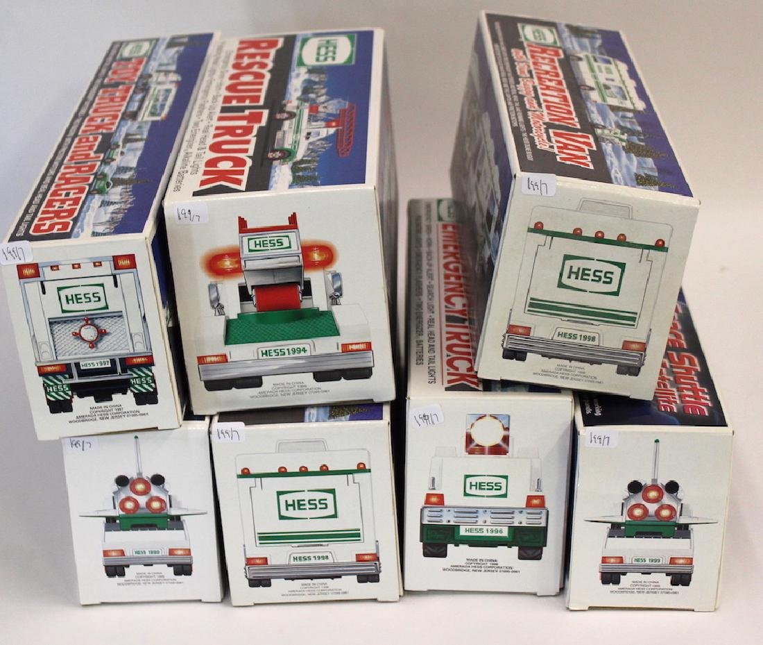 Collectible Hess Trucks (7) - 2