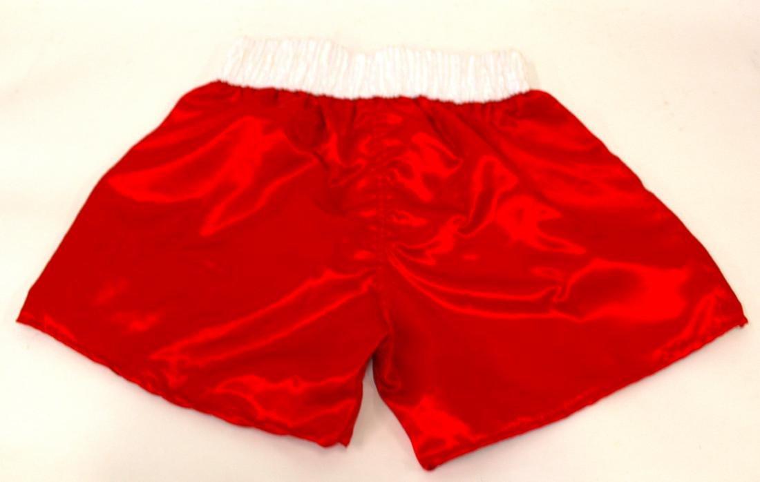 Kid Gavilan Signed Boxing Shorts - 4