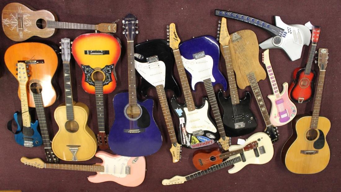 Collectors or Dealers Lot-Eighteen Guitars