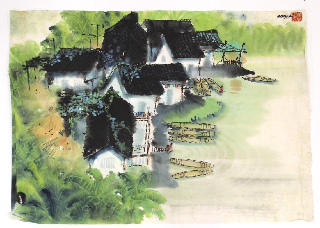 Japanese Water Color