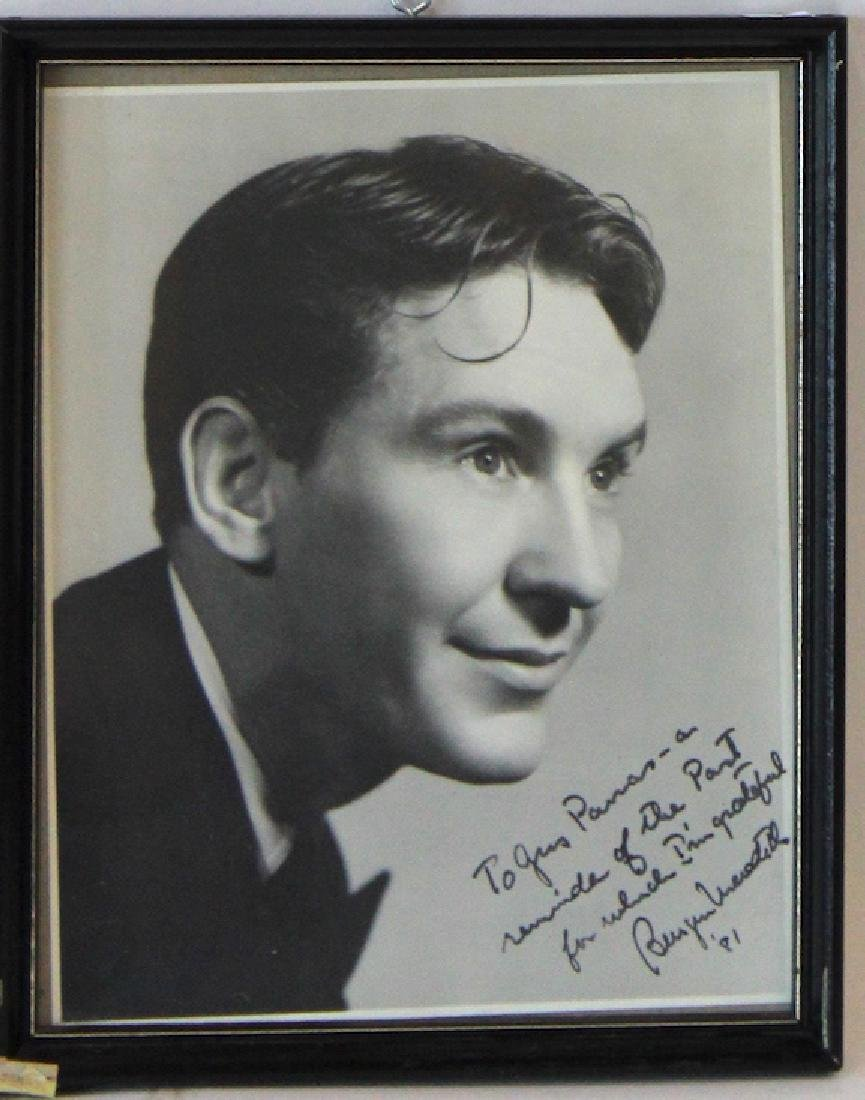 Burgess Meredith Photographs. Signed (2) - 2