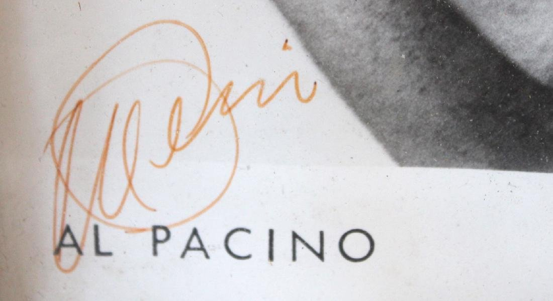 Al Pacino Photograph. Signed. - 3
