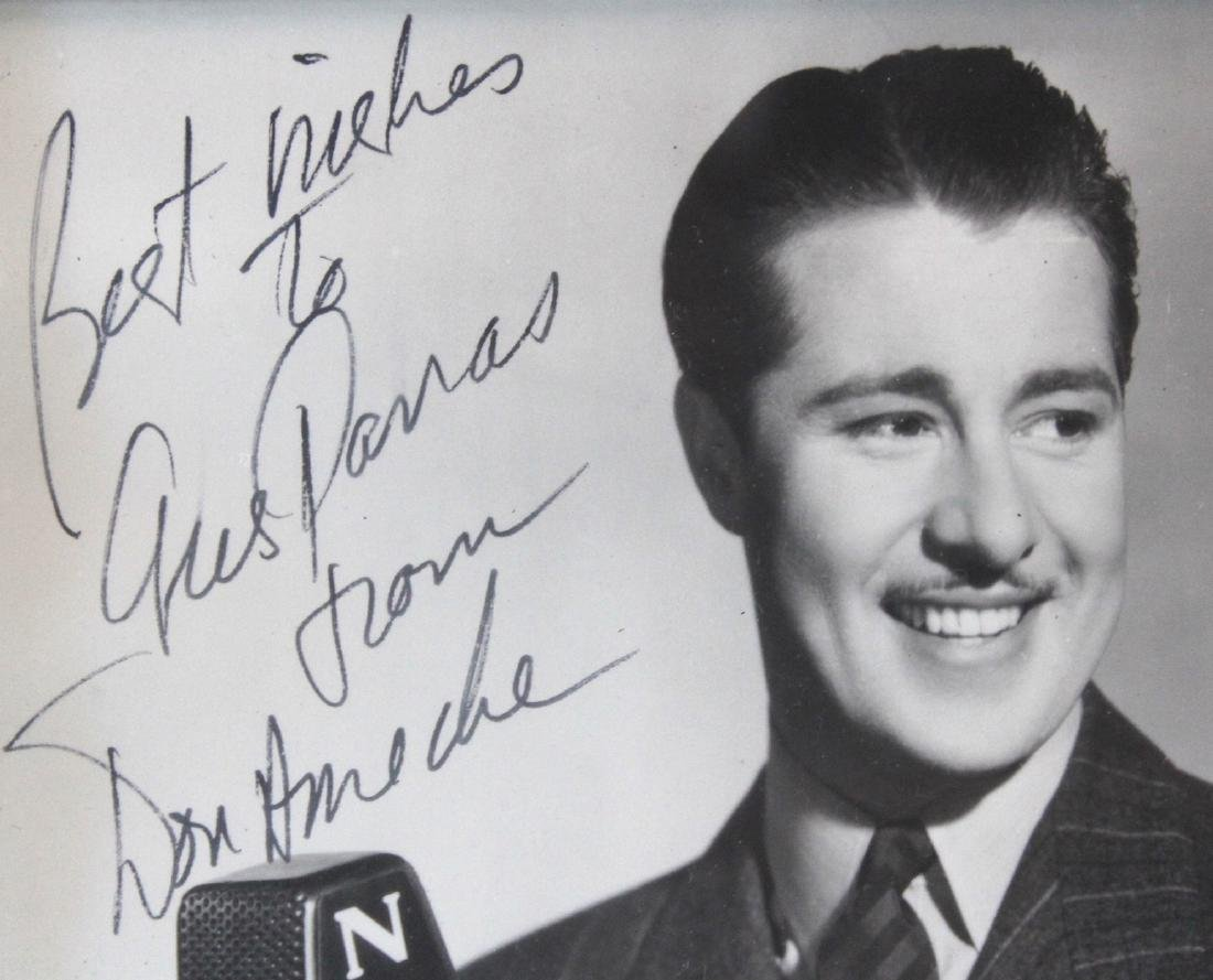 Don Ameche Photograph. Signed - 2