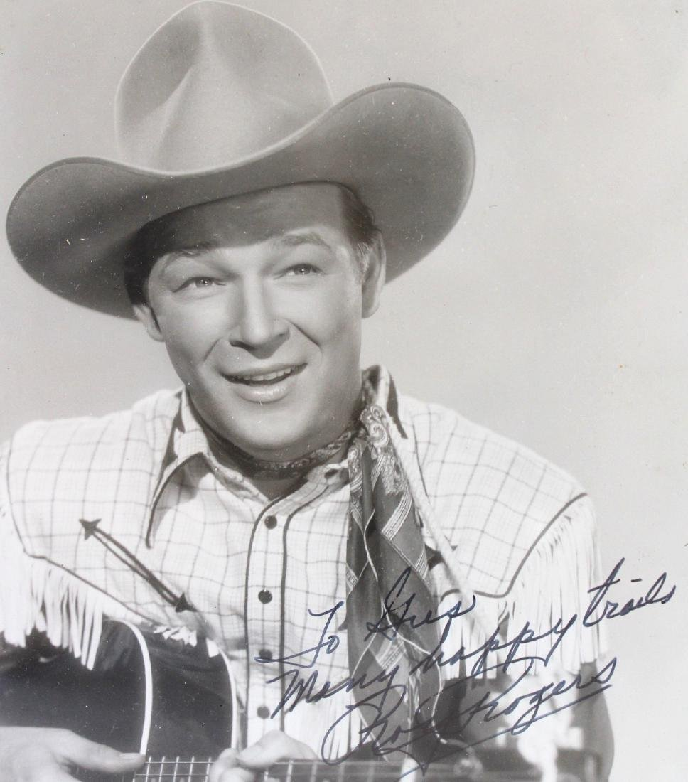 Roy Rogers Photograph Signed - 2