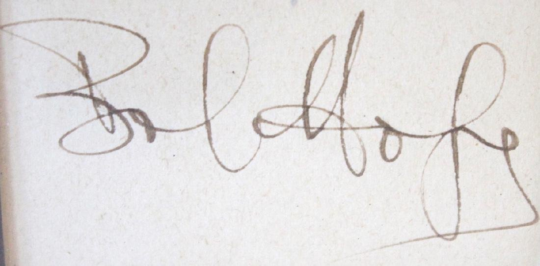 Bob Hope Photograph with Cut Signature - 2