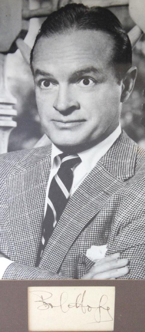 Bob Hope Photograph with Cut Signature - 3