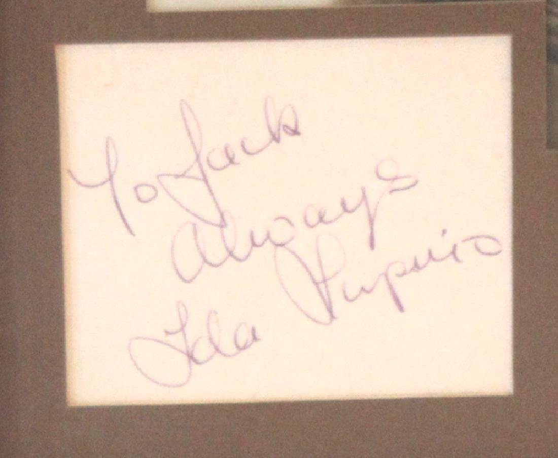 Ida Lupino Photograph with Cut Autograph - 2