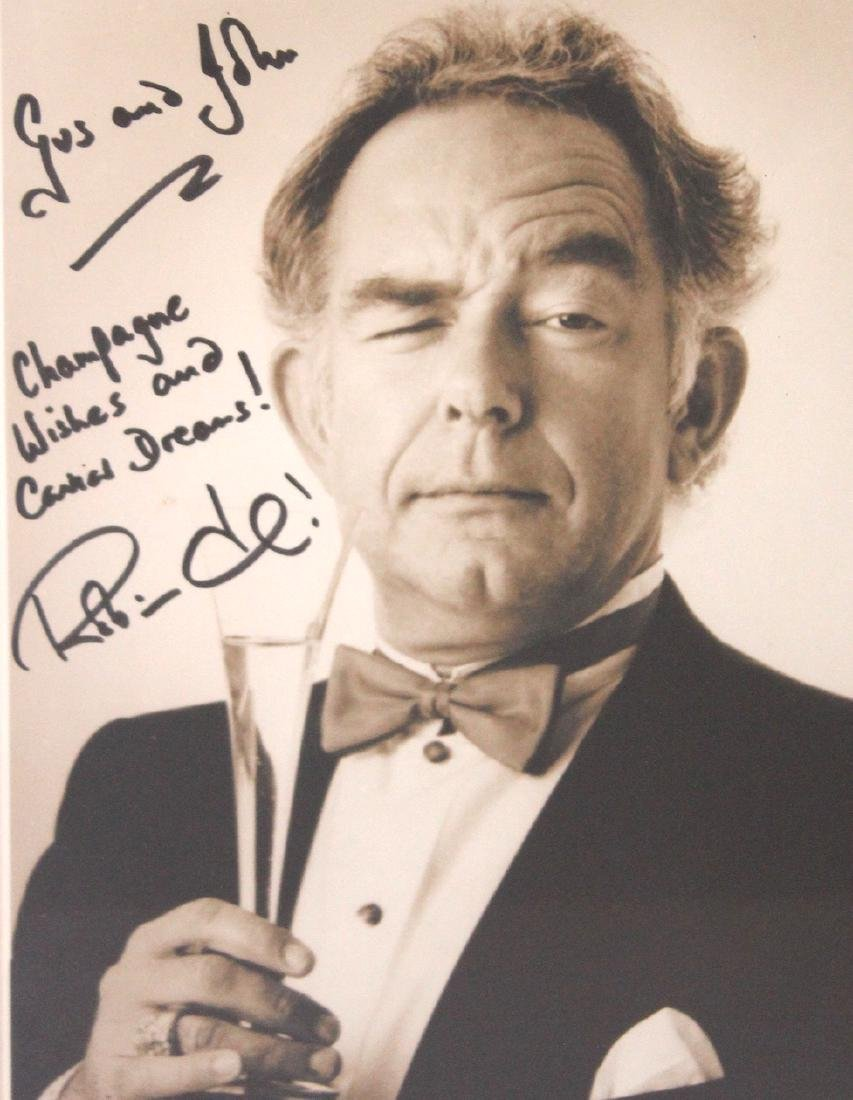Robin Leach Signed Photograph - 2