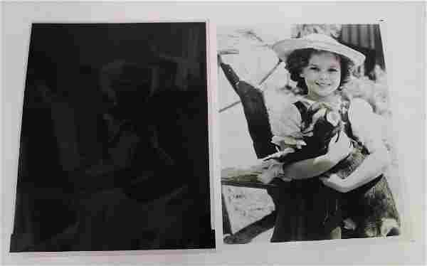 Shirley Temple Photographs and Negatives