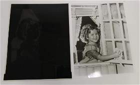 Shirley Temple Photograph and and Negative (2)