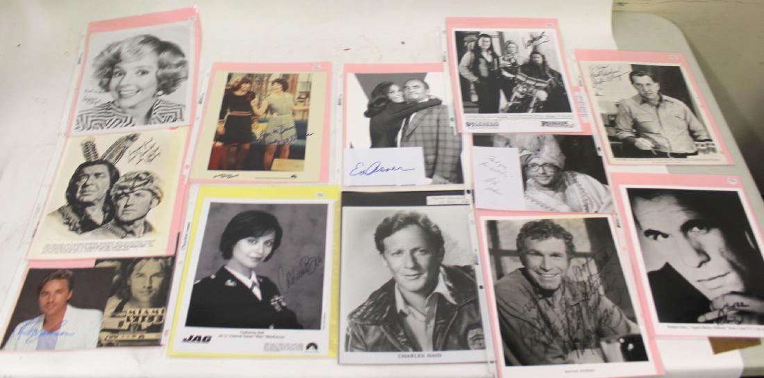 Autographed Photographs Inc Johnson Asner 13