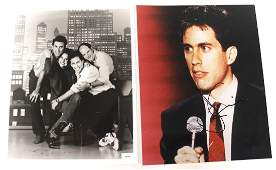 Jerry Seinfeld Signed Photograph and a Second