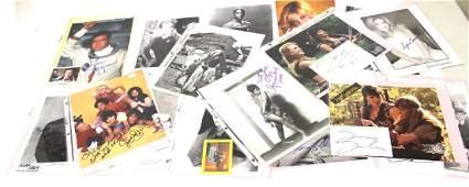 Autographed photo inc Bret Spiner Star Trek16