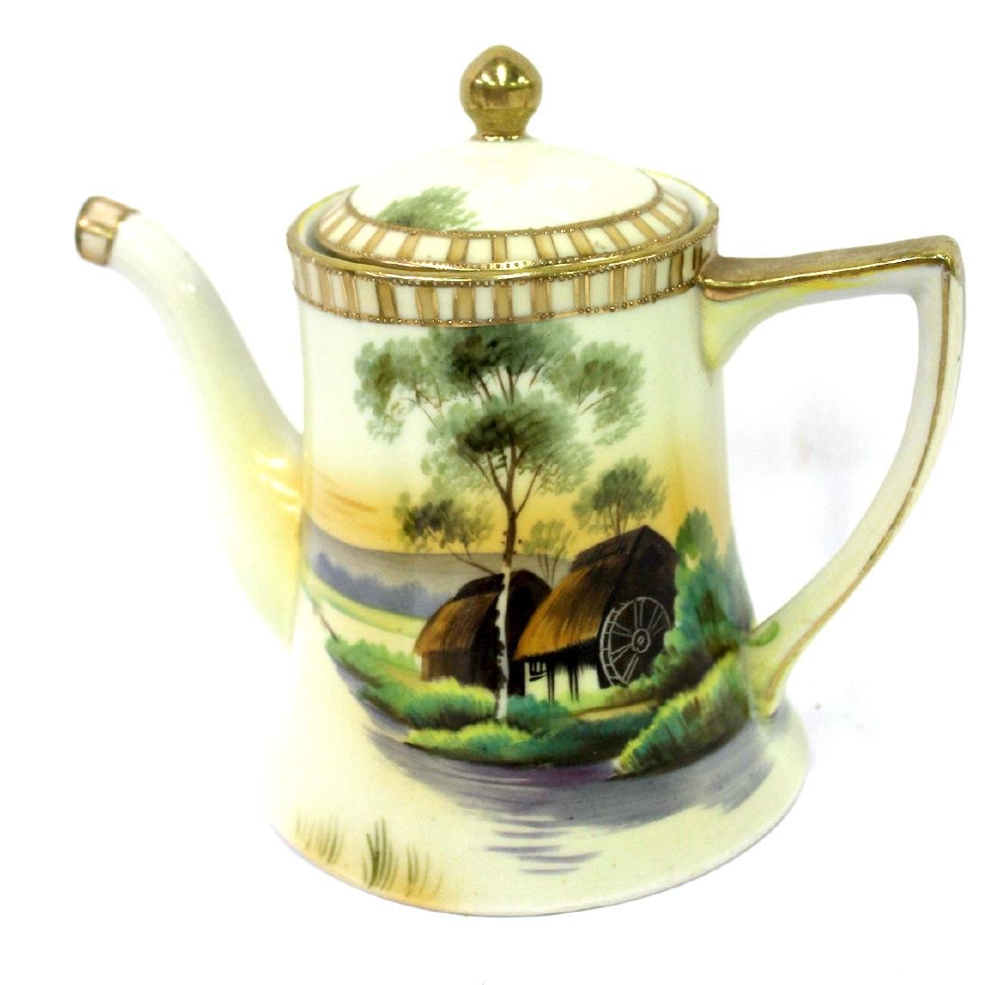 Nippon Tea Set . Signed. 3 pc. - 2
