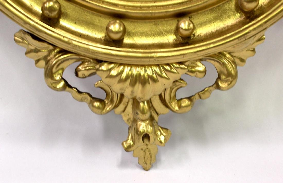 Gilt Framed Carved Mirror in the Federal Style - 5