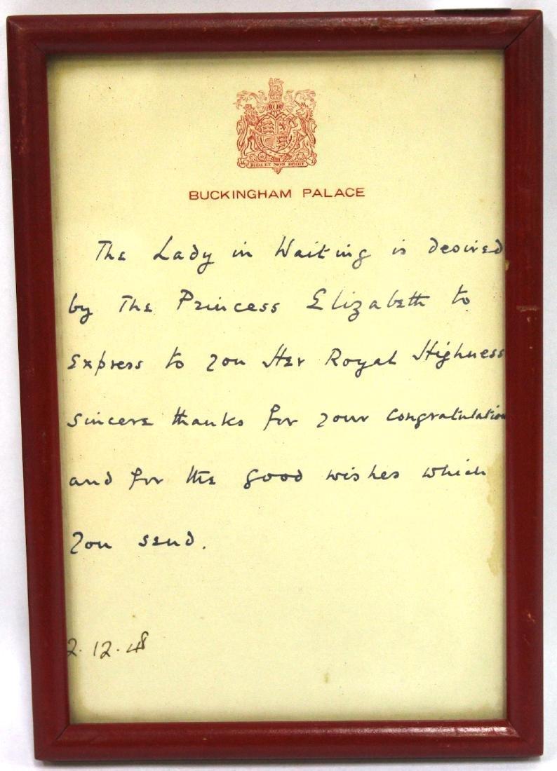 Buckingham Palace 1940's ALS (2) - 2