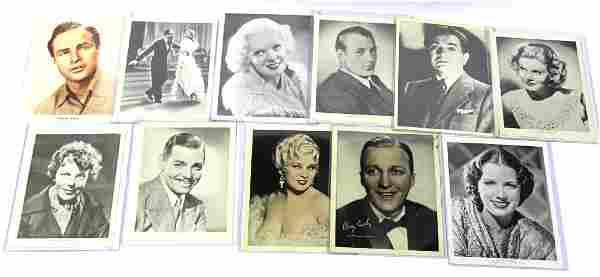 Vintage Celebrity Photographs. (11)